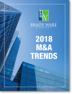 Brady Ware M&A Valuation Trends 2018