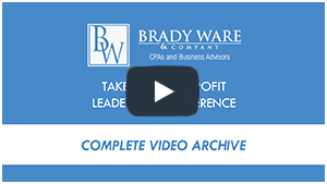 Take Five Nonprofit Conference Video Archive